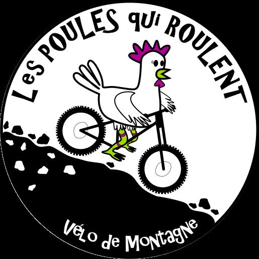 Logo Poules qui roulent