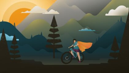 Confiance en soi vélo
