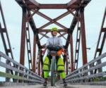 Terre-Neuve à vélo